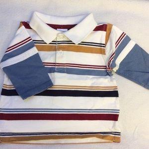 NWOT 100% cotton Gymboree long sleeve polo shirt